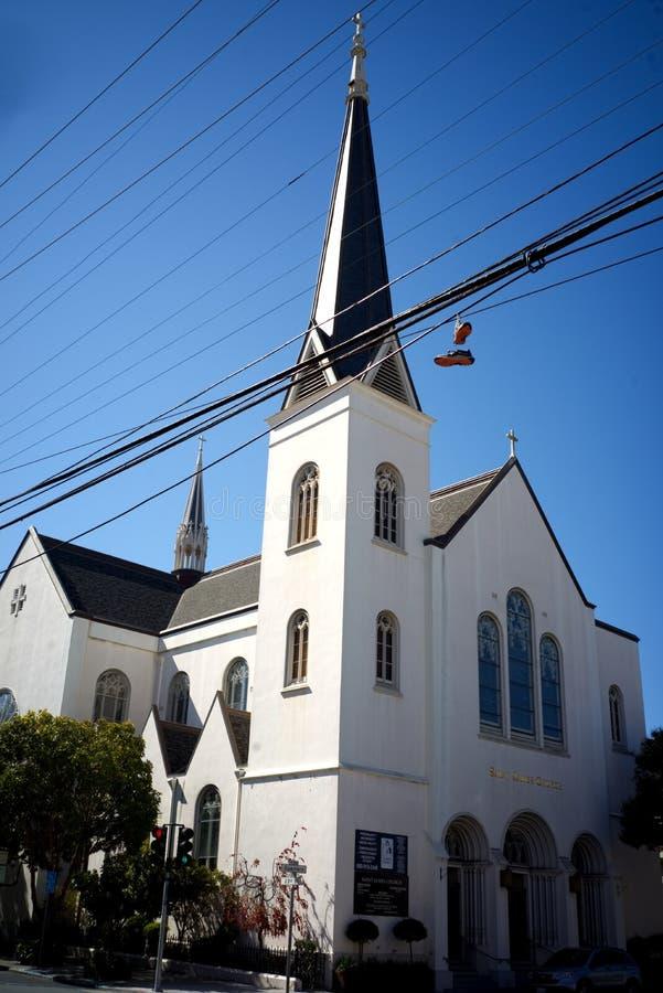 Saint James Catholic Church San Francisco royalty free stock images