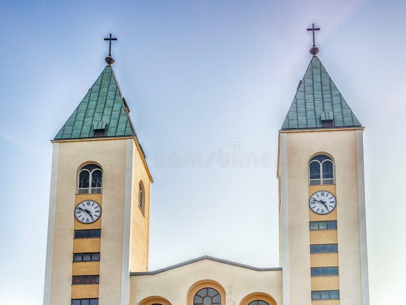 Saint James Church dans Medjugorje photo libre de droits