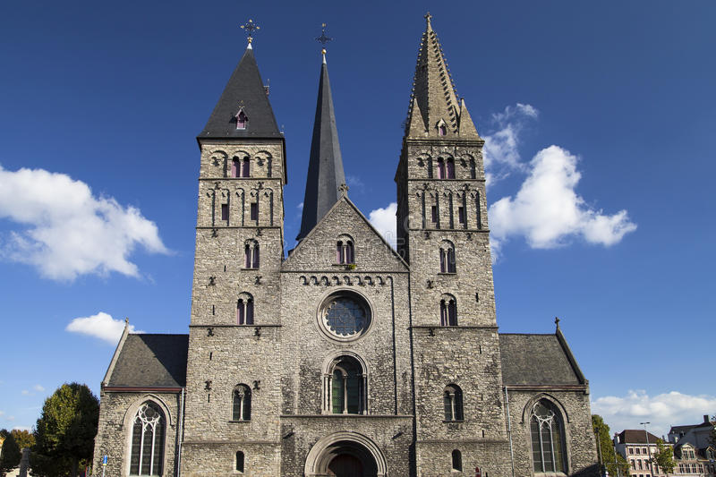 Saint James Church in Ghent royalty free stock images
