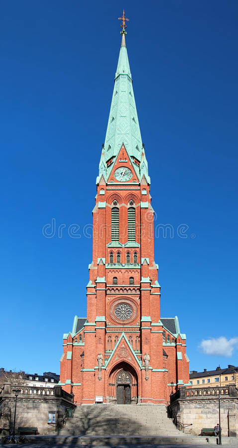 Download Saint Johannes Church In Stockholm Stock Image - Image: 23583773