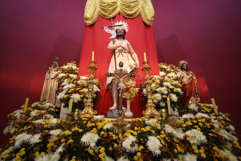 Sao Joao Batista Catholic Image. Saint John the Baptist of the Catholic Church - Sao Joao Batista royalty free stock images