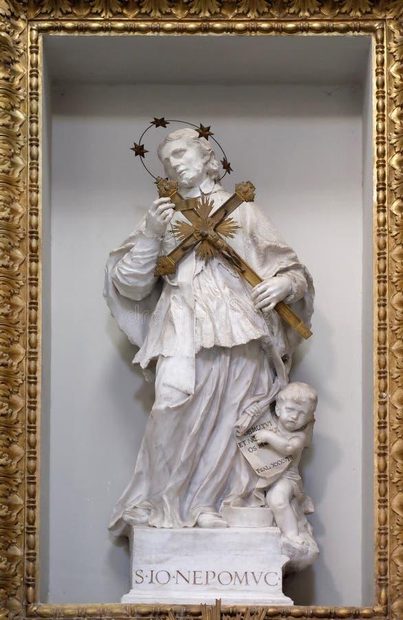 Saint John de Nepomuk photos stock