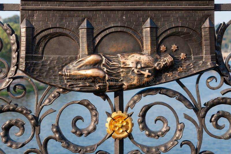 Saint John del alivio de Nepomuk en Praga fotografía de archivo libre de regalías