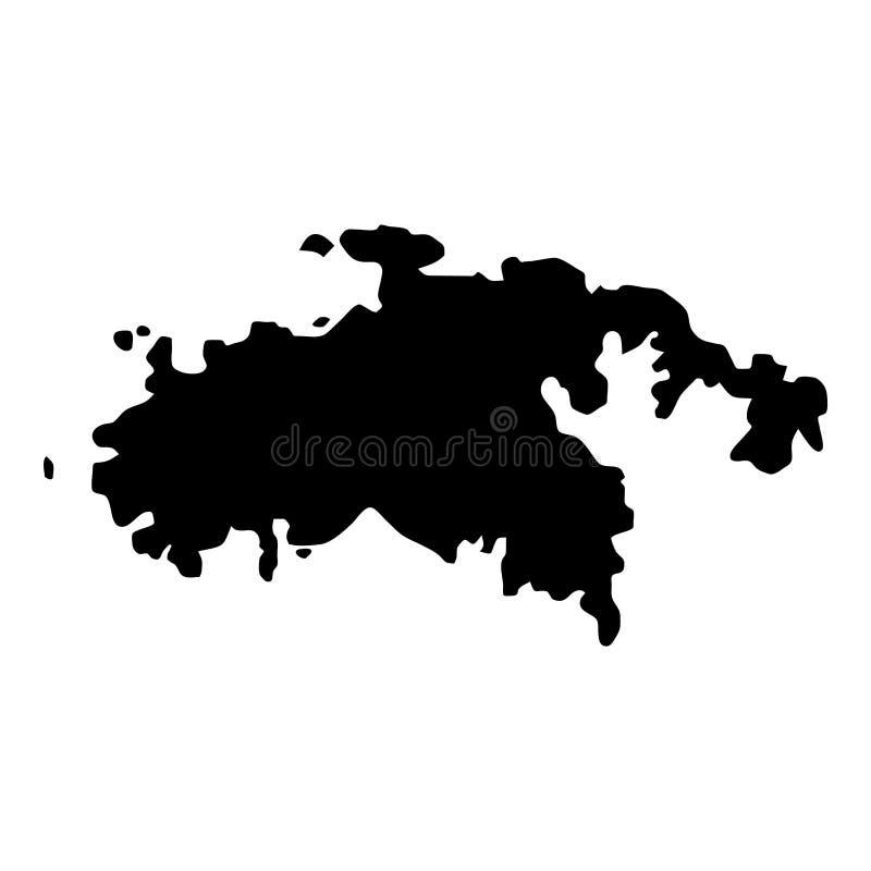 download saint john map stock vector illustration of caribbean 111019341