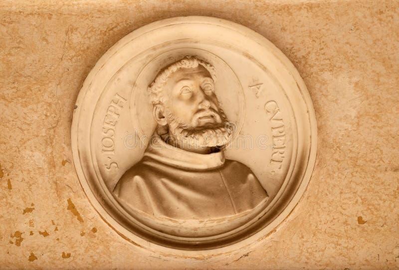 Saint Joseph av Cupertino arkivbild