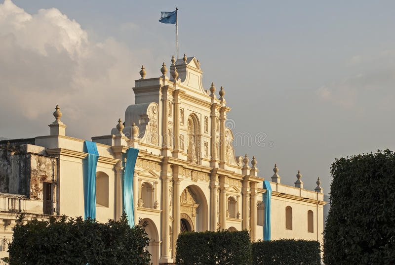 Saint Joseph Cathedral à l'Antigua photographie stock