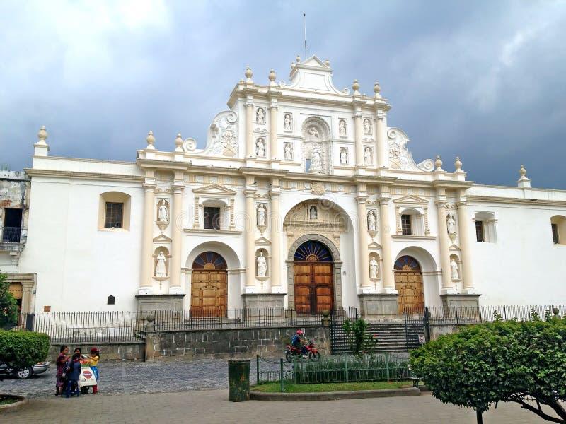 Saint Joseph Cathedral à l'Antigua Guatemala photos stock