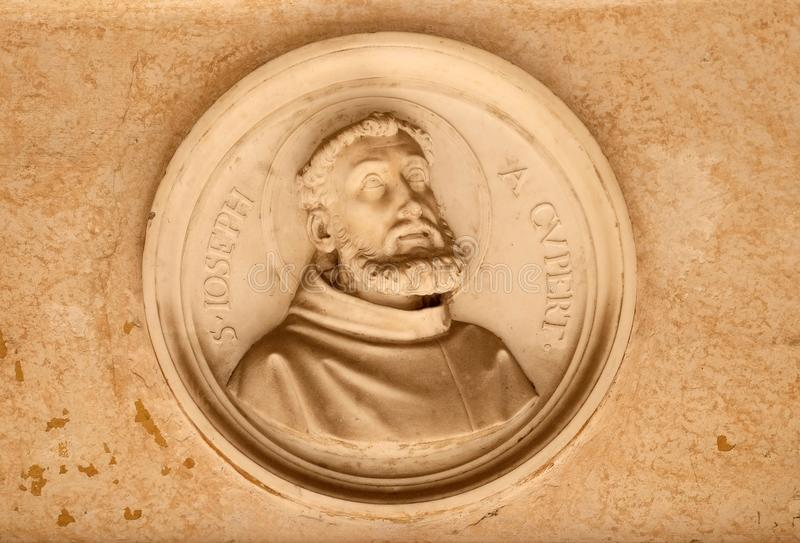 Saint Joseph de Cupertino fotografia de stock
