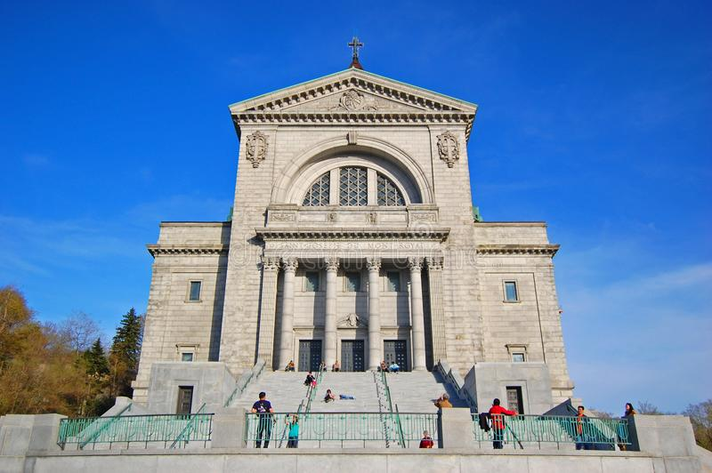 Saint Joseph Oratory, Montreal, Canada. Saint Joseph Oratory French: Oratoire Saint Joseph in Montreal, Quebec, Canada royalty free stock photography