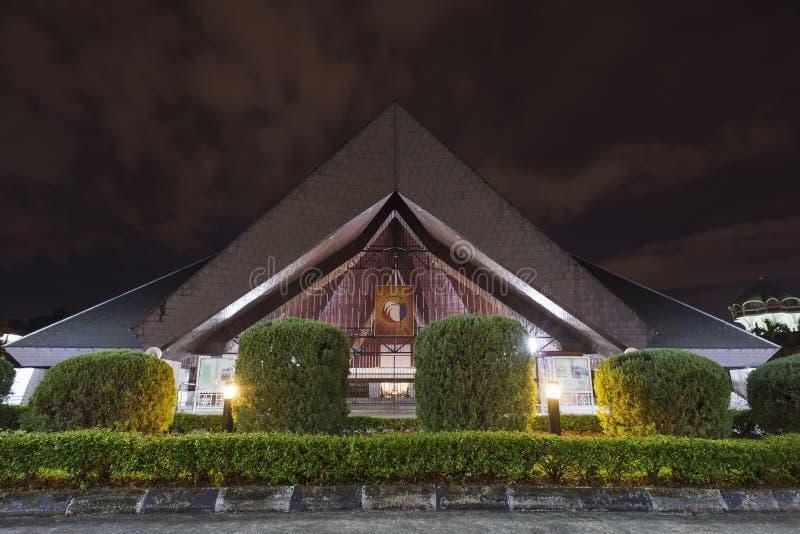 Saint Josephs Cathedral Kuching Malaysia. A night view of the Saint Josephs Cathedral or church Kuching Malaysia stock images