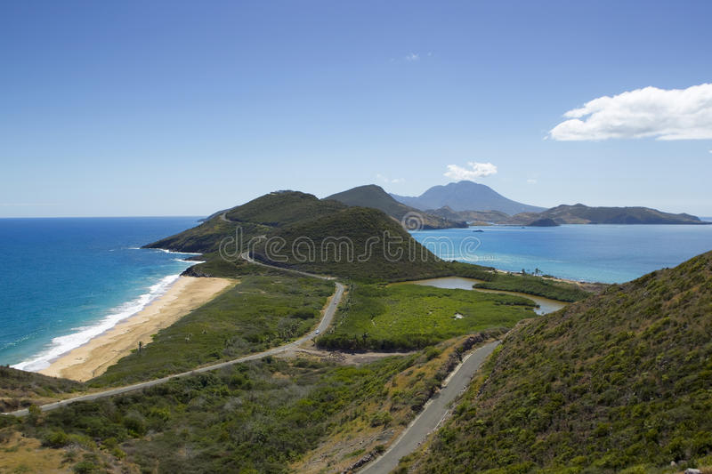 Saint kitts et Nevis photo stock