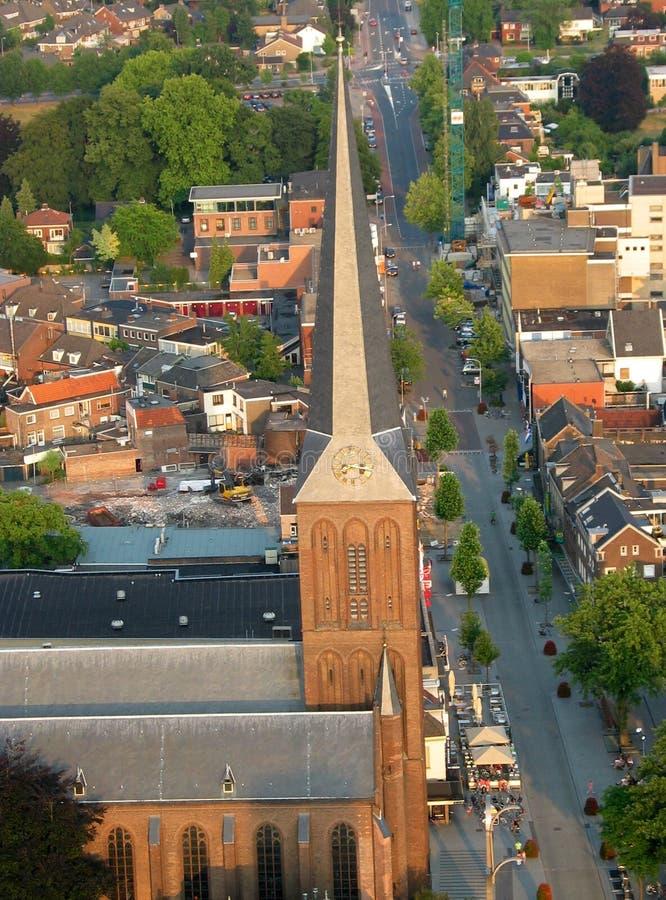 Saint Lambert Church Hengelo stock photography