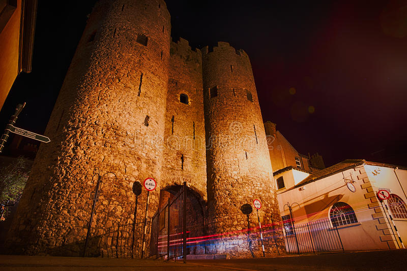 Saint Laurence Gate Drogheda, Irlande photos libres de droits