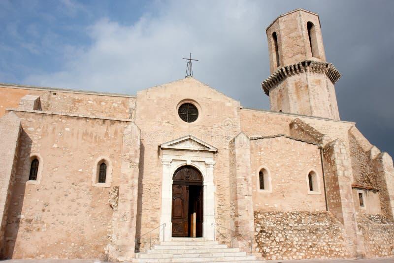 Saint Laurent-Kirche, Marseille, Frankreich. stockbilder