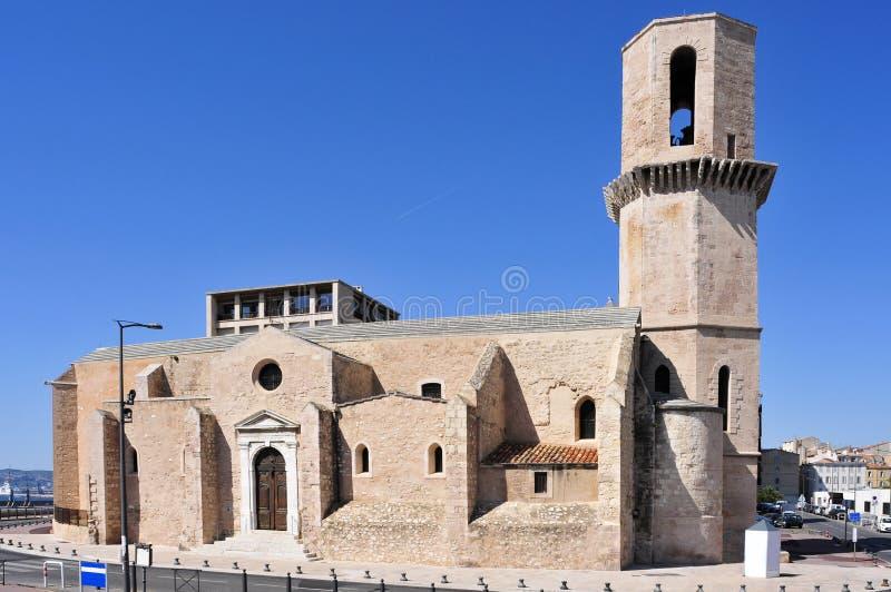Saint Laurent-Kirche in Marseille, Frankreich stockbild