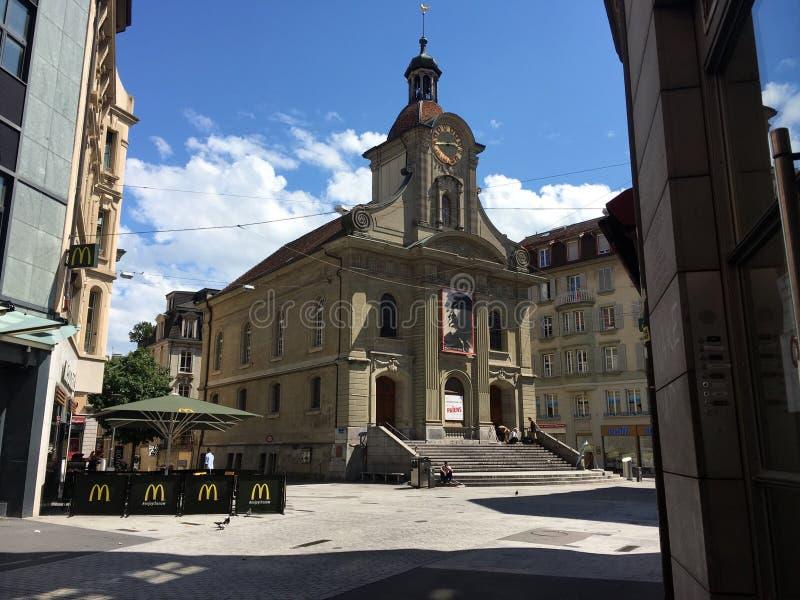 Saint Laurent Szwajcaria piękny zdjęcie royalty free