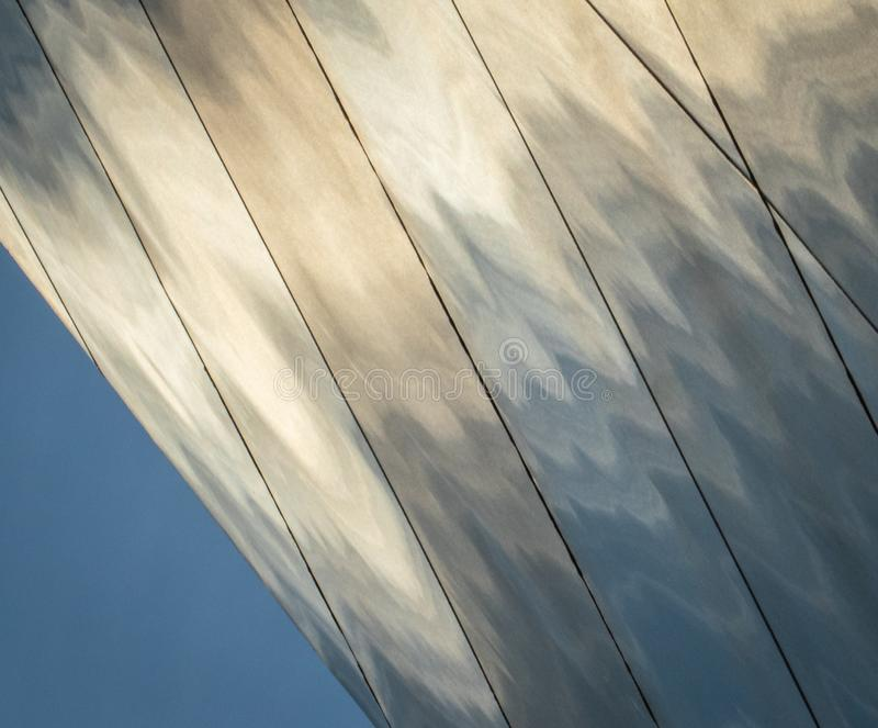 Saint Louis Gateway Arch Detail royalty free stock photo