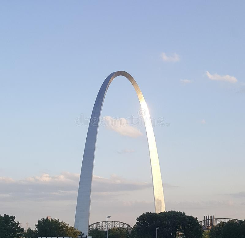 Saint Louis Arch stock images