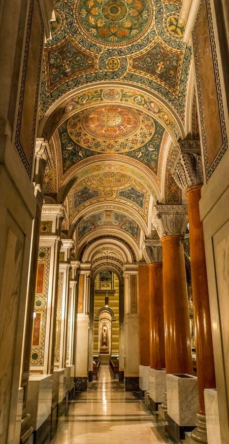 Saint Louis Basilica Side Altar Mosaics royalty free stock image