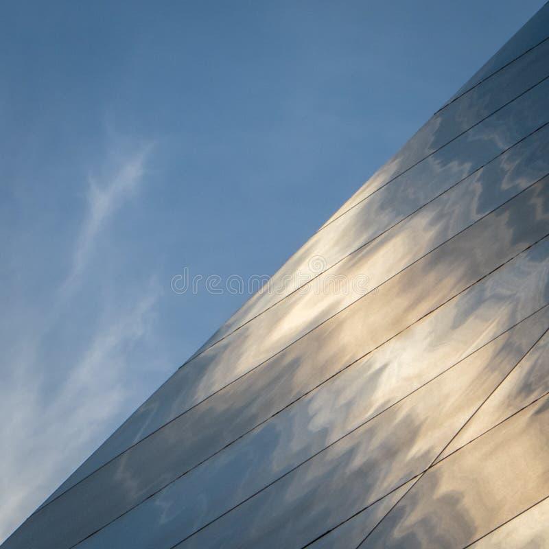 Saint Louis bramy łuku szczegół z niebem fotografia royalty free