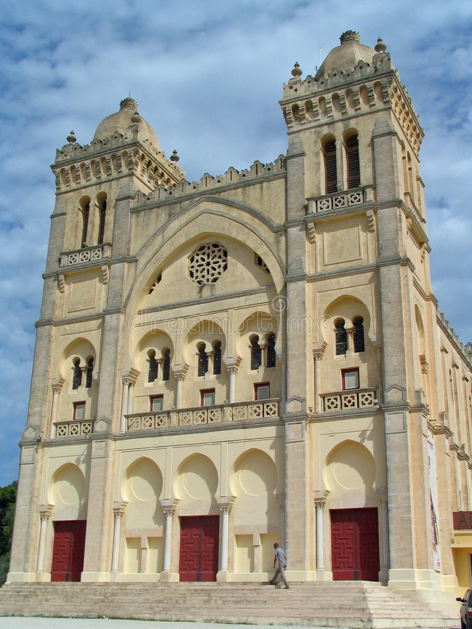 Download Saint Louis Cathedral (Carthage, Tunisia) Stock Image - Image: 26978253