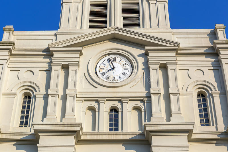 saint louis cathedral in the french quarter in new orleans stock