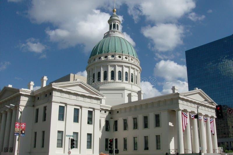 Saint Louis Missouri, vieux tribunal du comté pris le 2 juillet 2009 photos libres de droits