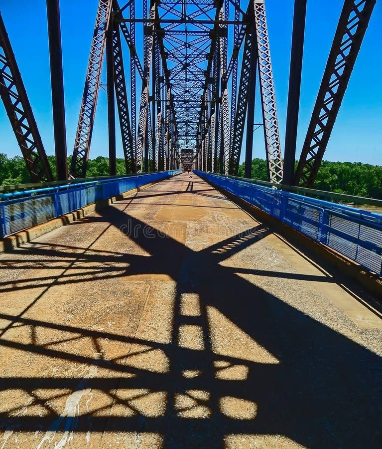 Saint Louis, MO USA - Chain Of Rocks Bridge stock photography