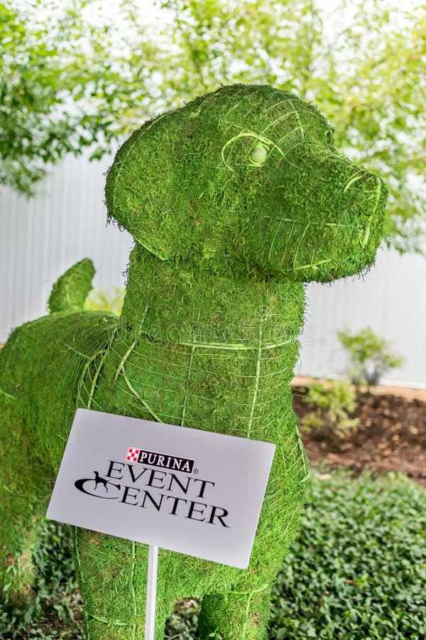Purina Event Center Entrance Exterior royalty free stock photography