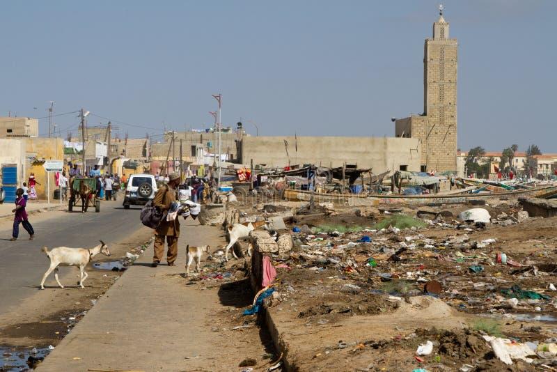 Saint Louis, Senegal, Africa immagine stock libera da diritti