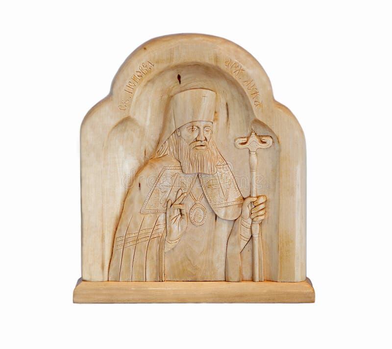 Saint Luc - docteur d'évêque photographie stock libre de droits
