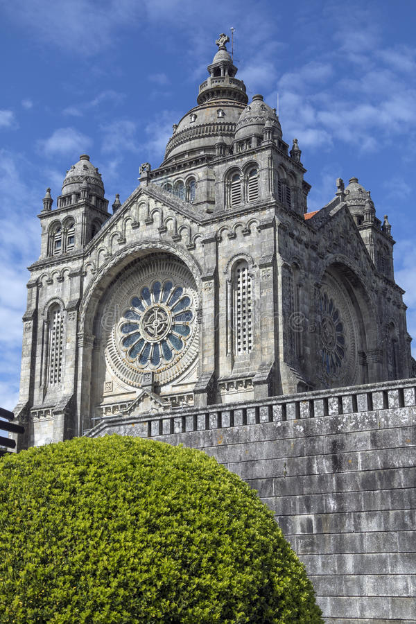 Saint Lucia Basilica - Viana do Castelo - Portugal royalty free stock image