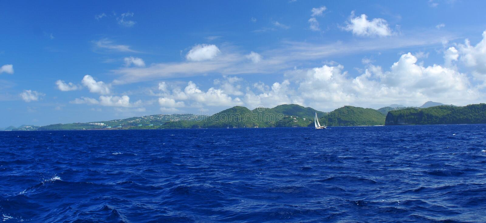 Saint Lucia royalty free stock images