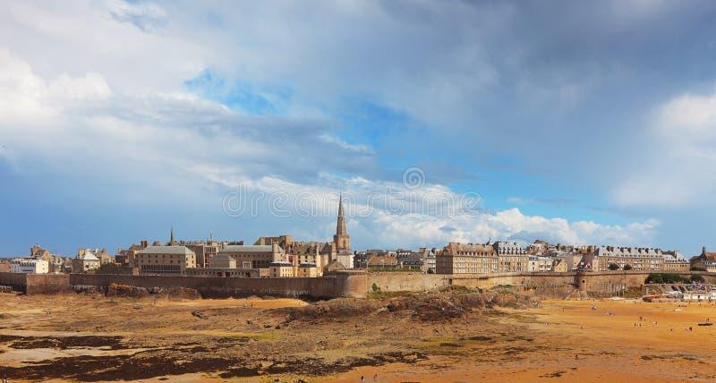 Saint Malo fotos de stock royalty free