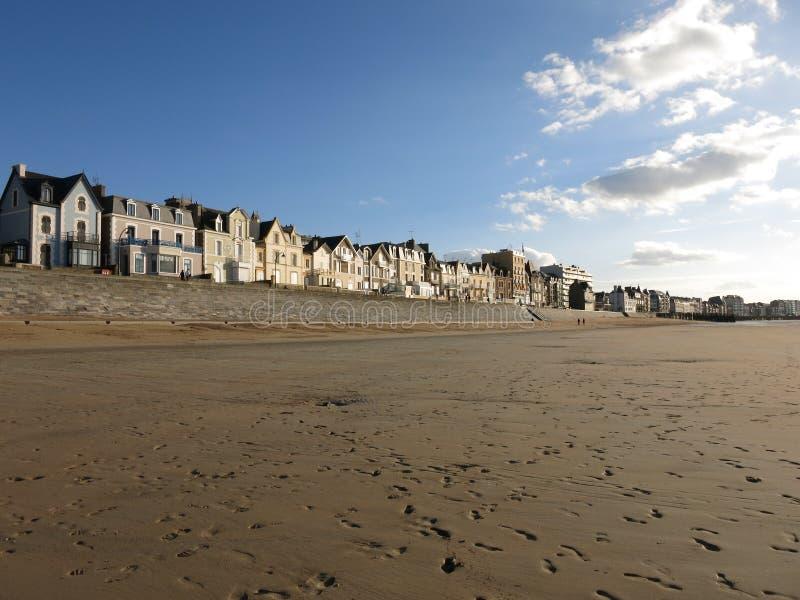 Saint Malo, Bretagne, Frankrijk stock foto's