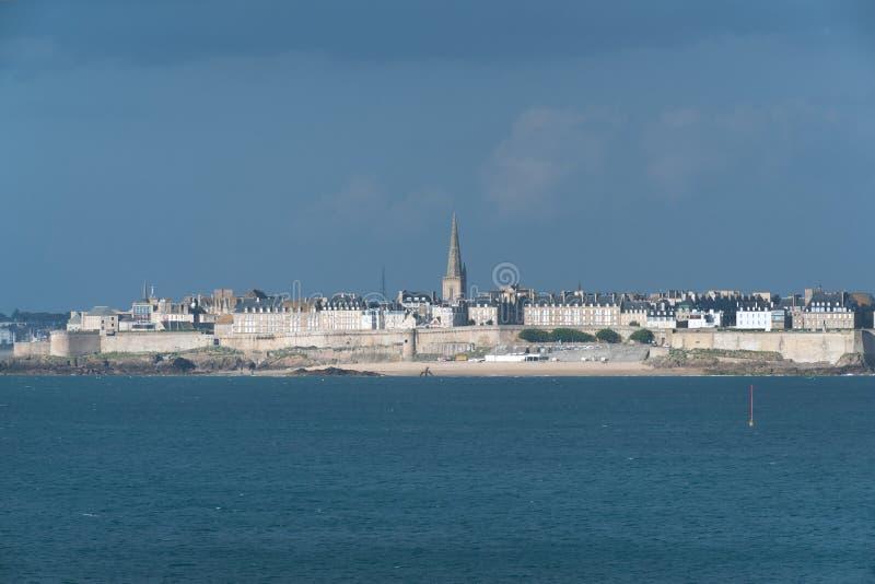 Saint Malo Brittany royaltyfri bild