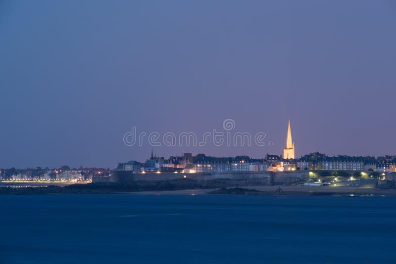 Saint Malo Brittany royaltyfri foto