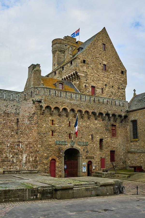 Saint Malo, Brittany, França imagem de stock