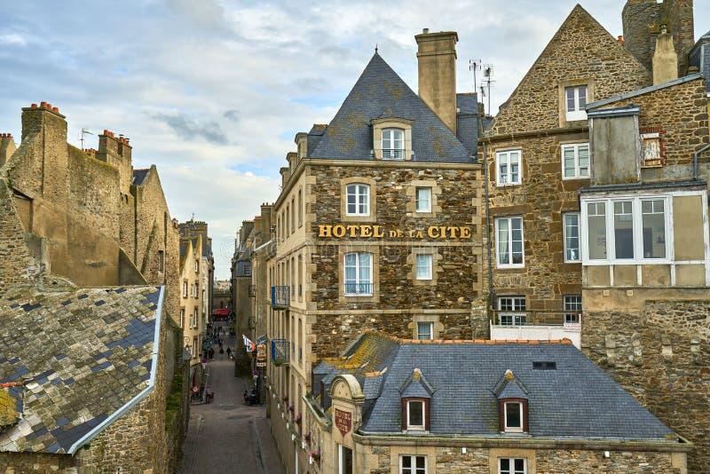 Saint Malo, Brittany, França imagens de stock royalty free