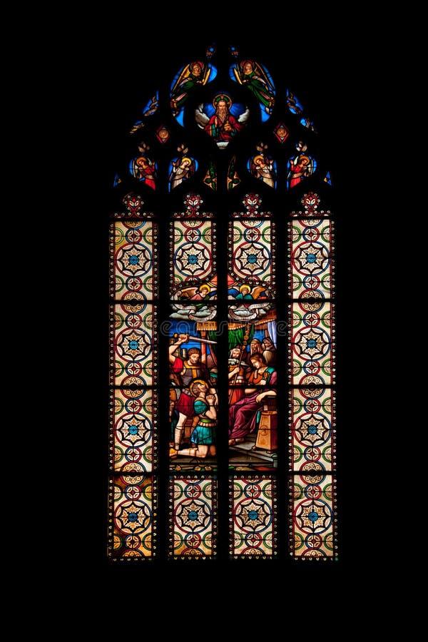 Saint Malo church royalty free stock photography