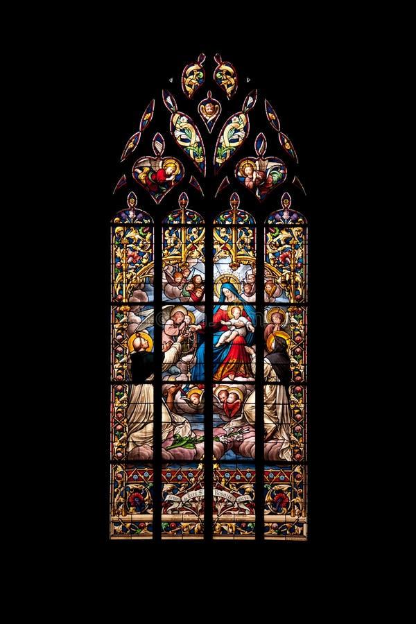 Saint Malo Church Royalty Free Stock Photo