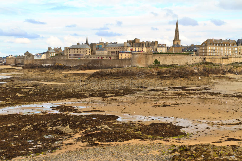 Download Saint Malo City View, France Stock Image - Image of medieval, fort: 22287403