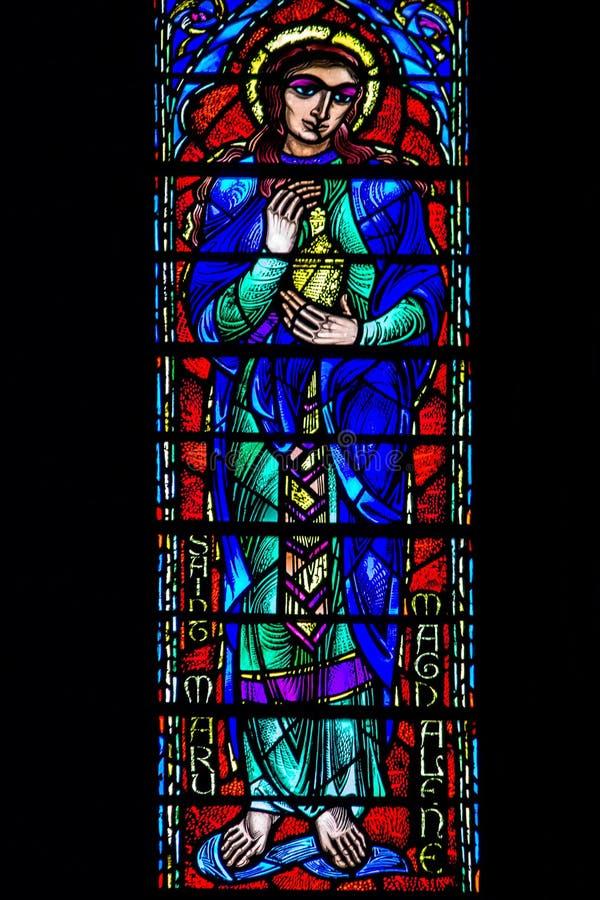 Saint manchado Mary Magdalene fotografia de stock