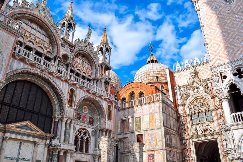 Saint Mark`s Basilica Basilica di San Marco, Venice, Italy stock photos