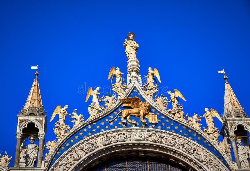 Saint Mark`s Basilica Piazza San Marco Venice Italy. Saint Mark`s Basilica,Piazza San Marco,Venice, Basilica,building,venetian,historic,venezia,church royalty free stock photography