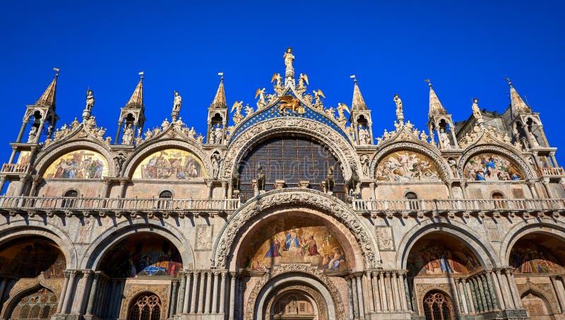 Saint Mark`s Basilica Piazza San Marco Venice Italy. Saint Mark`s Basilica,Piazza San Marco,Venice, Basilica,building,venetian,historic,venezia,church stock photo