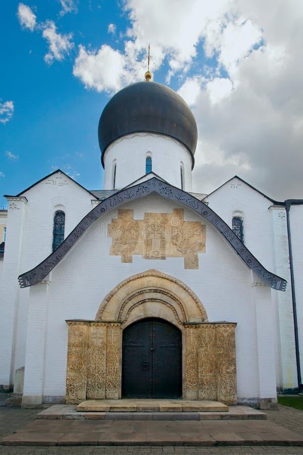Saint Martha e Mary Convent da catedral de Pokrovsky moscow russ imagens de stock