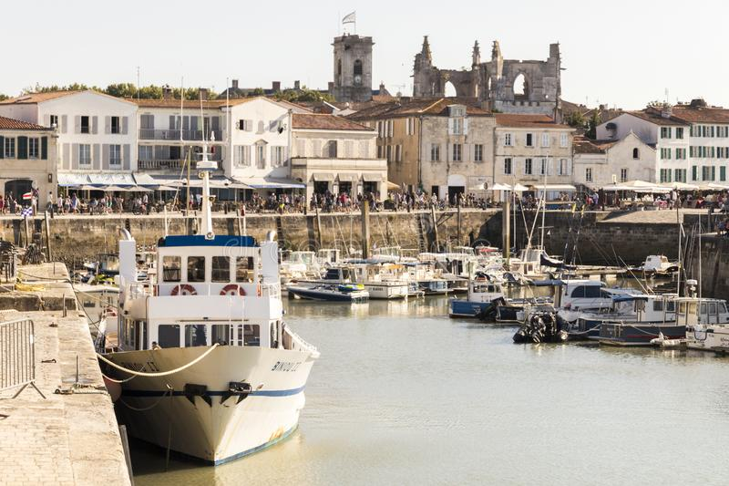 Saint Martin de Re, França imagem de stock royalty free