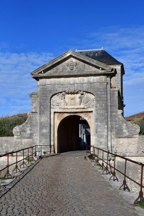 Saint Martin de Re, France - 26 septembre 2016 : fortifications images libres de droits
