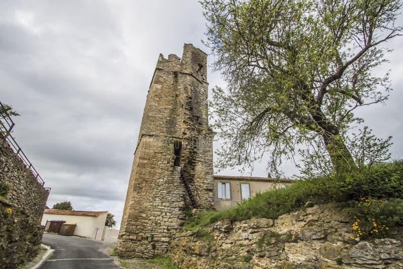 Saint-Martin-le-Vieil, França foto de stock royalty free